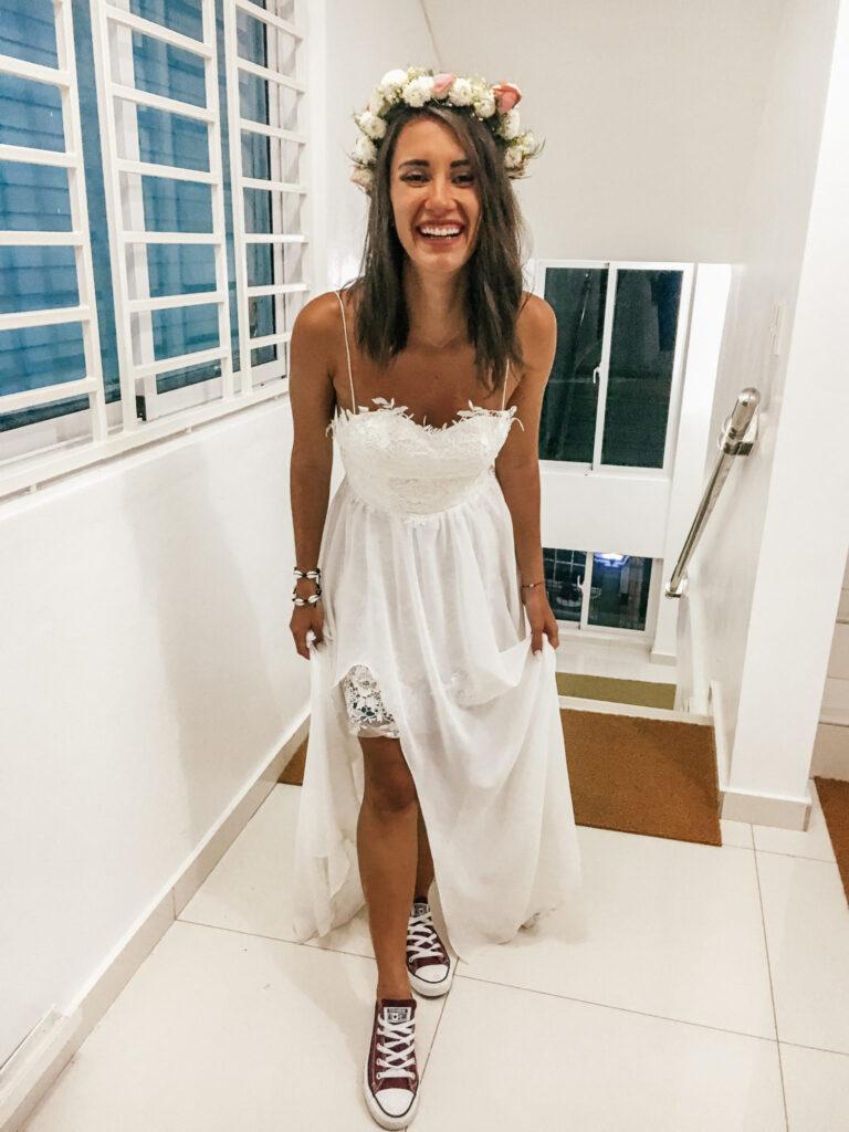 Ślub na plaży buty ślubne