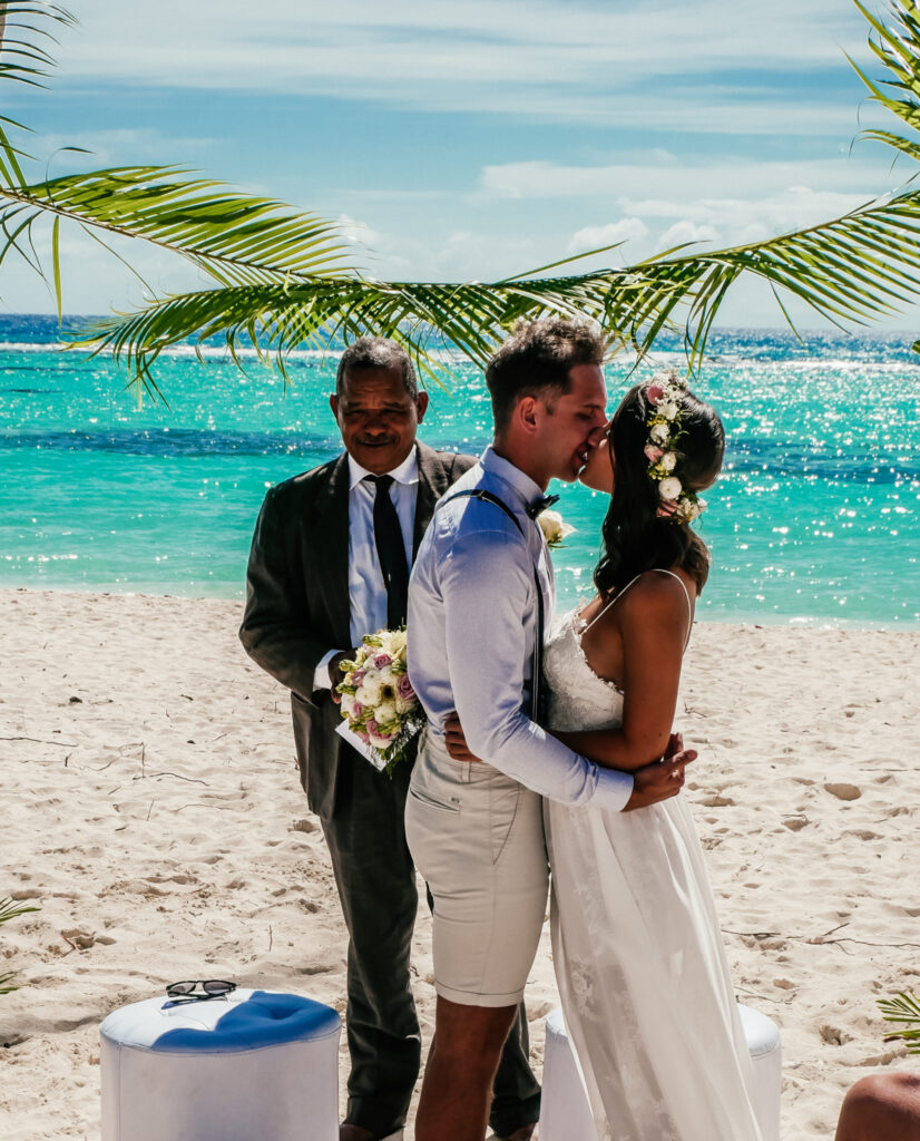 Ślub na plaży ceremonia