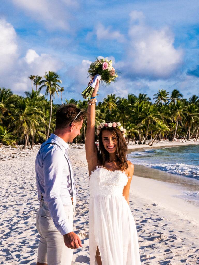 Ślub na plaży Dominikana