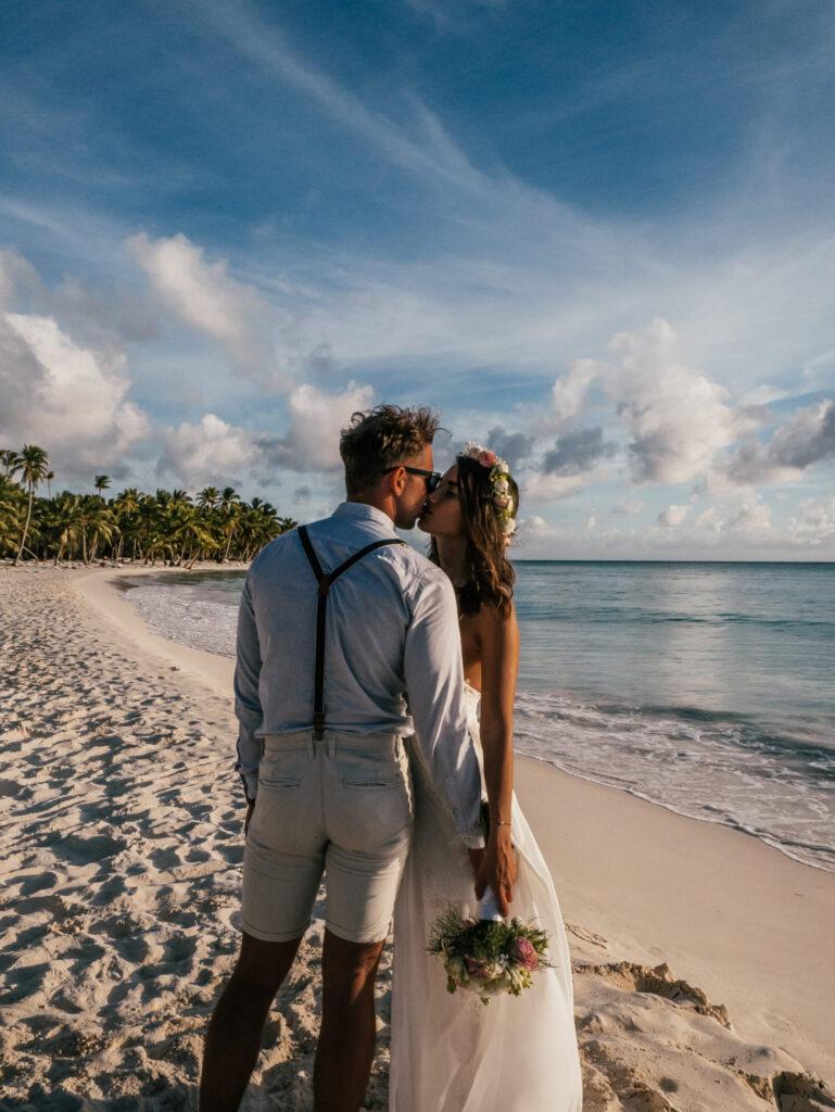 Ślub na plaży Saona Dominikana