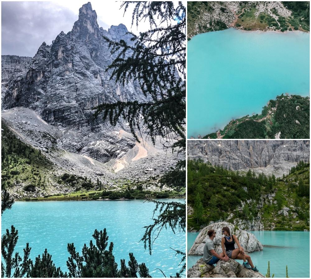Dolomity - Lago di Sorapis