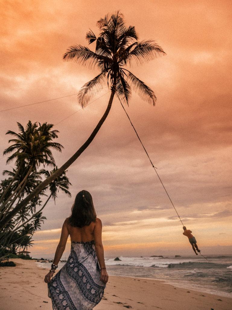 plaże na Sri Lance