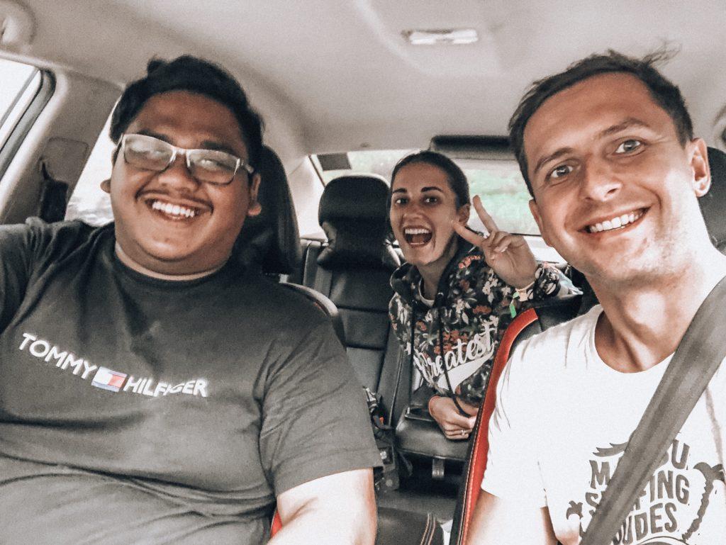 Borneo, Autostop
