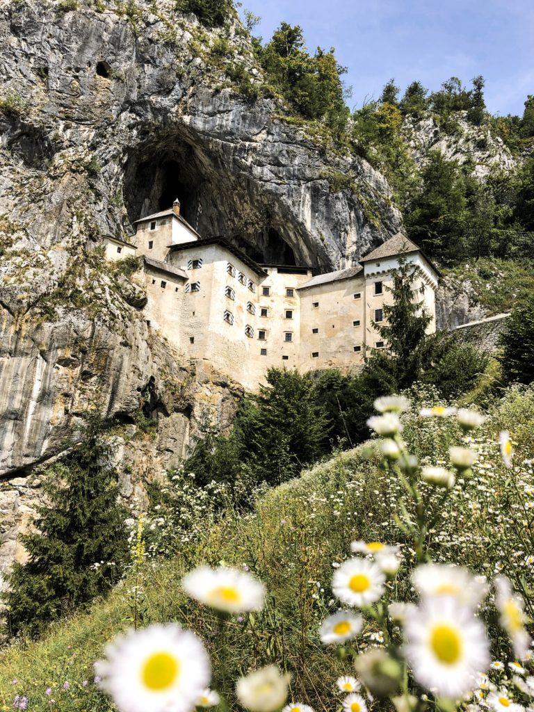 Zamek Predjama Słowenia