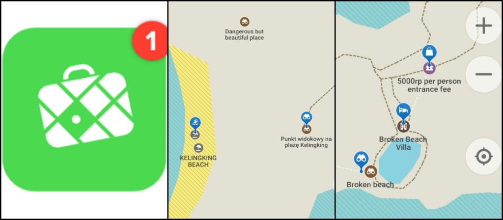 Maps.me Aplikacje podróżnicze