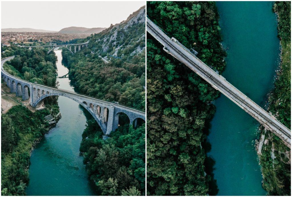 Most na Soczi Słowenia