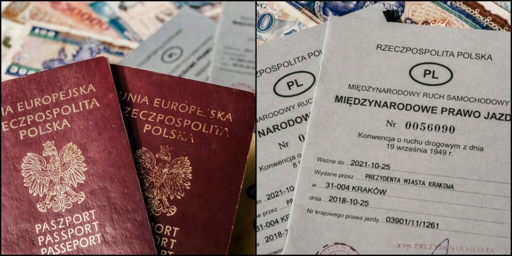 Paszport i międzynarodowe prawo jazdy do Azji