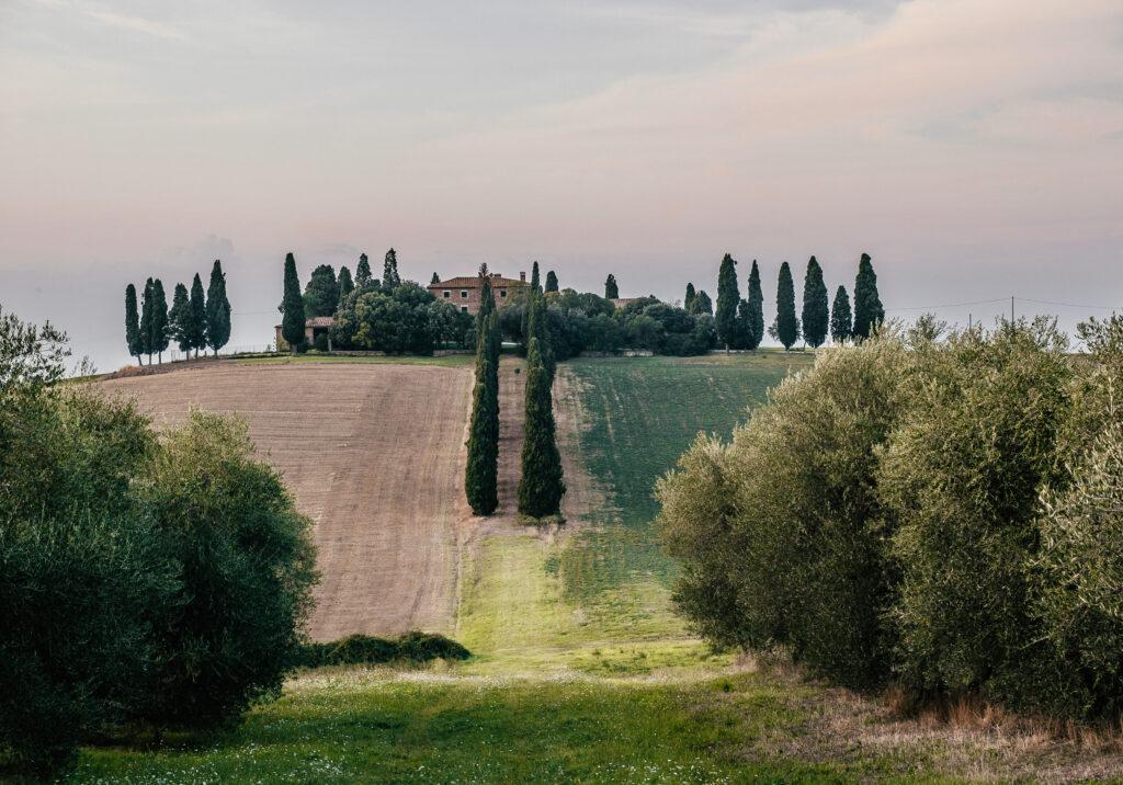 Dom Gladiatora w Toskanii