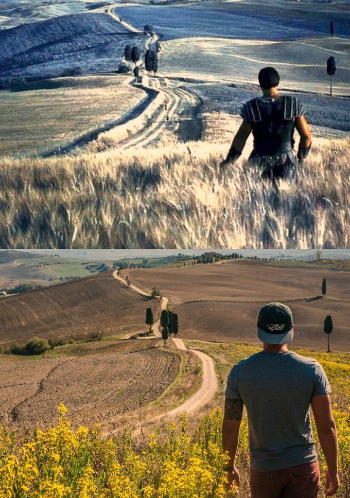 Droga gladiatora w Toskanii