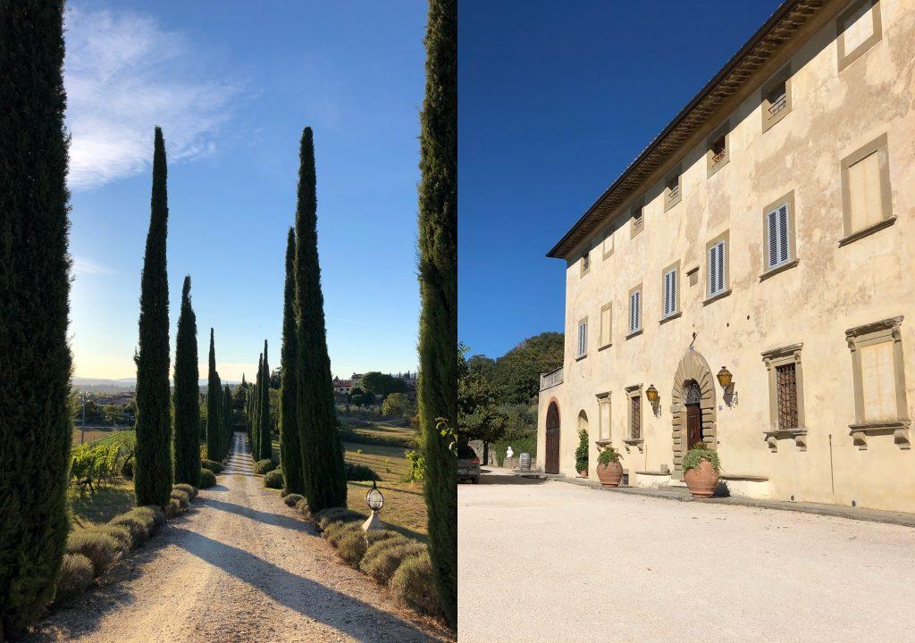 winiarnia La Ripa w Toskanii