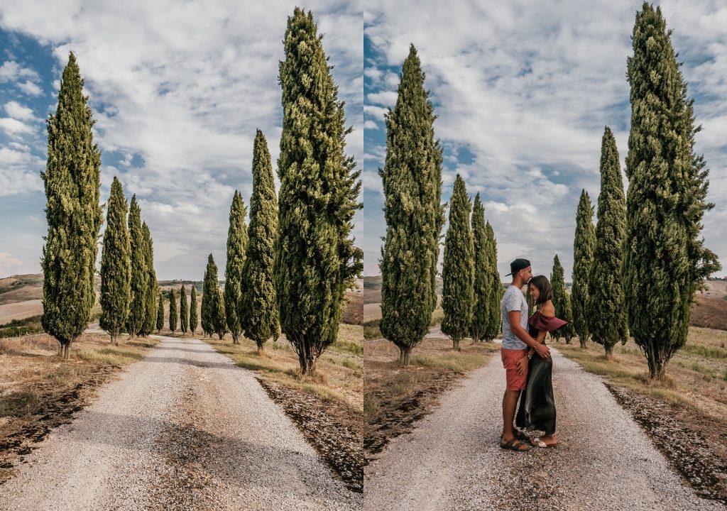 Alejka Cyprysów w Toskanii