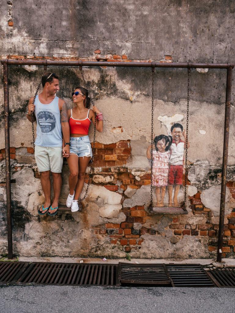 Malezja murale