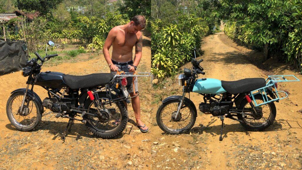Wietnam kupno motoru