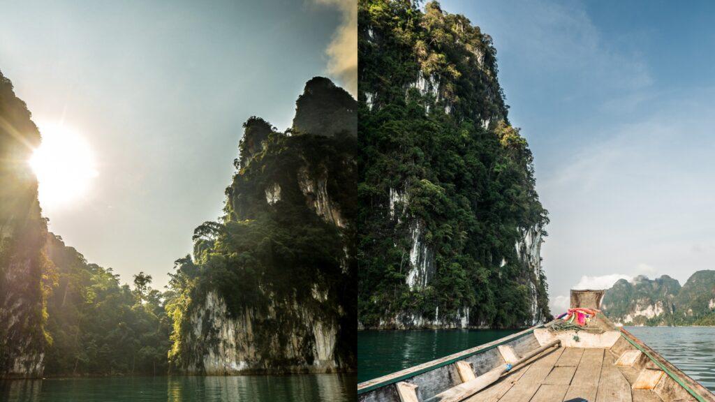 Rejs po jeziorzeChiaw Lan Khao Sok