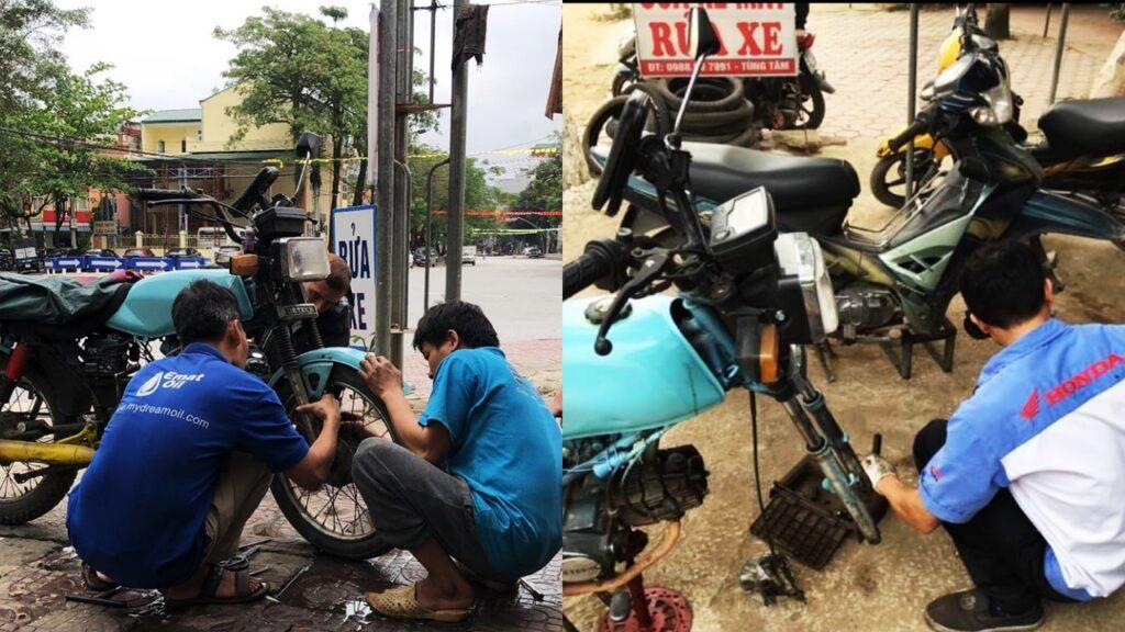 Wietnam motor naprawy