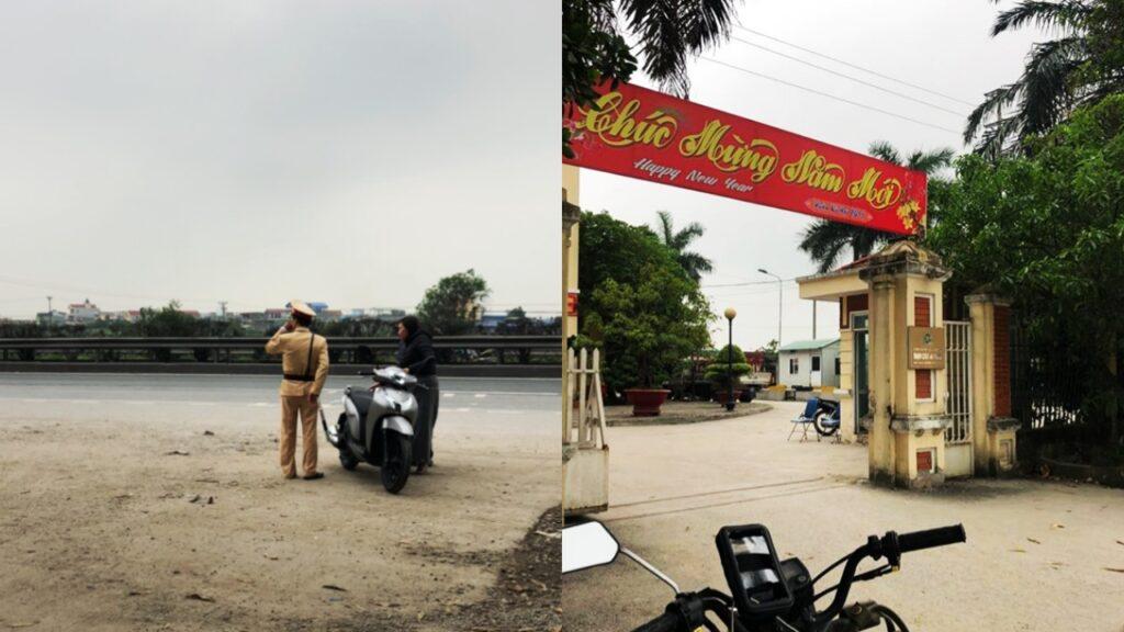 Wietnam motorem policja