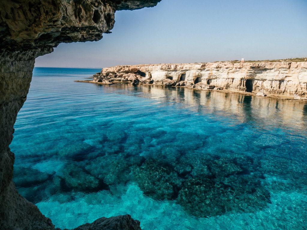 Cypr sea caves