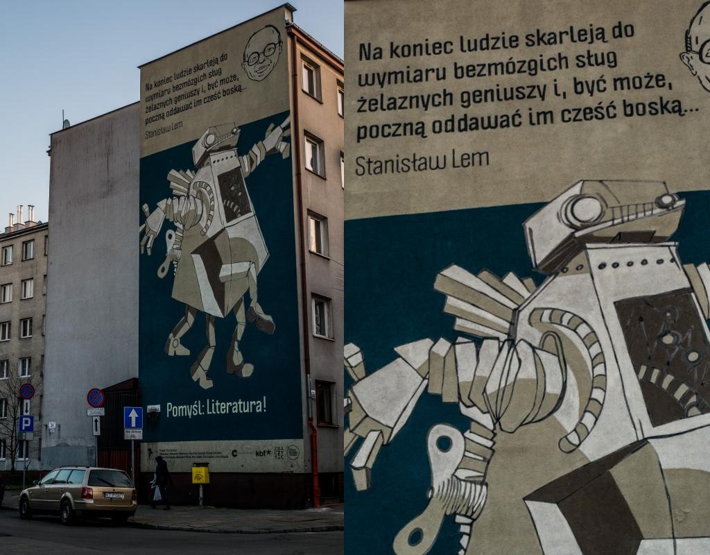 Mural ulica Krakusa. Co zobaczyć w Krakowie