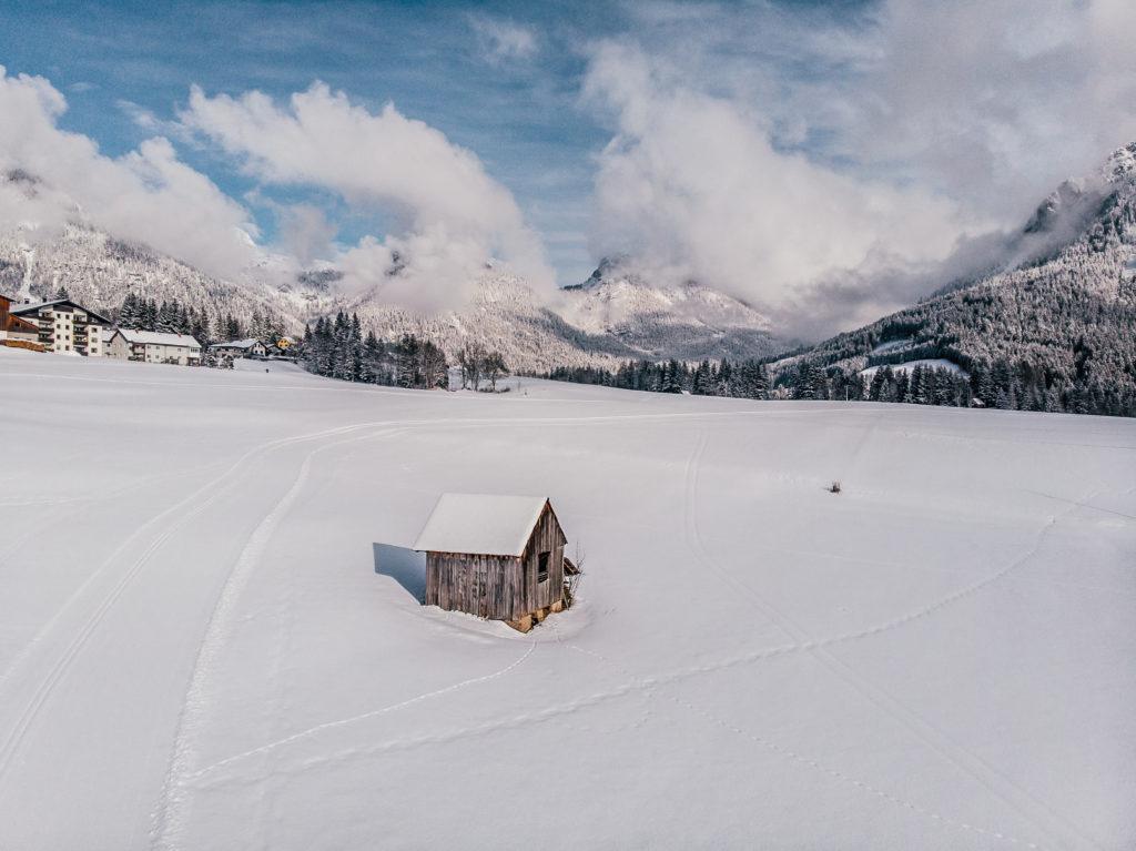 Alpy zimą Tauplitz