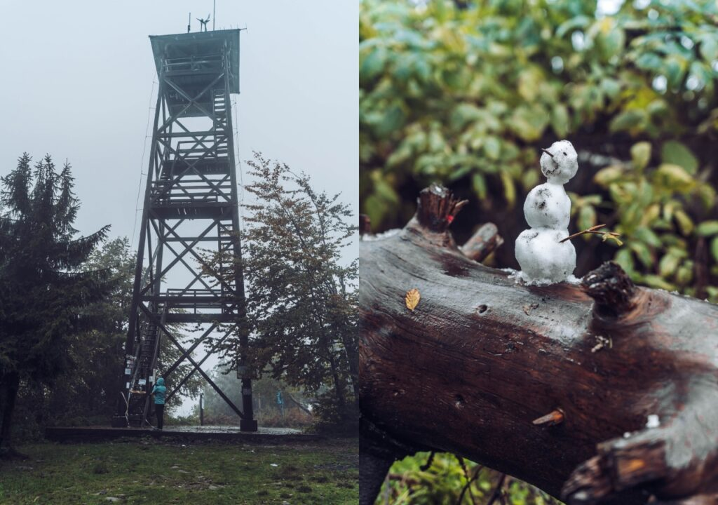 Mogielica - wieża widokowa