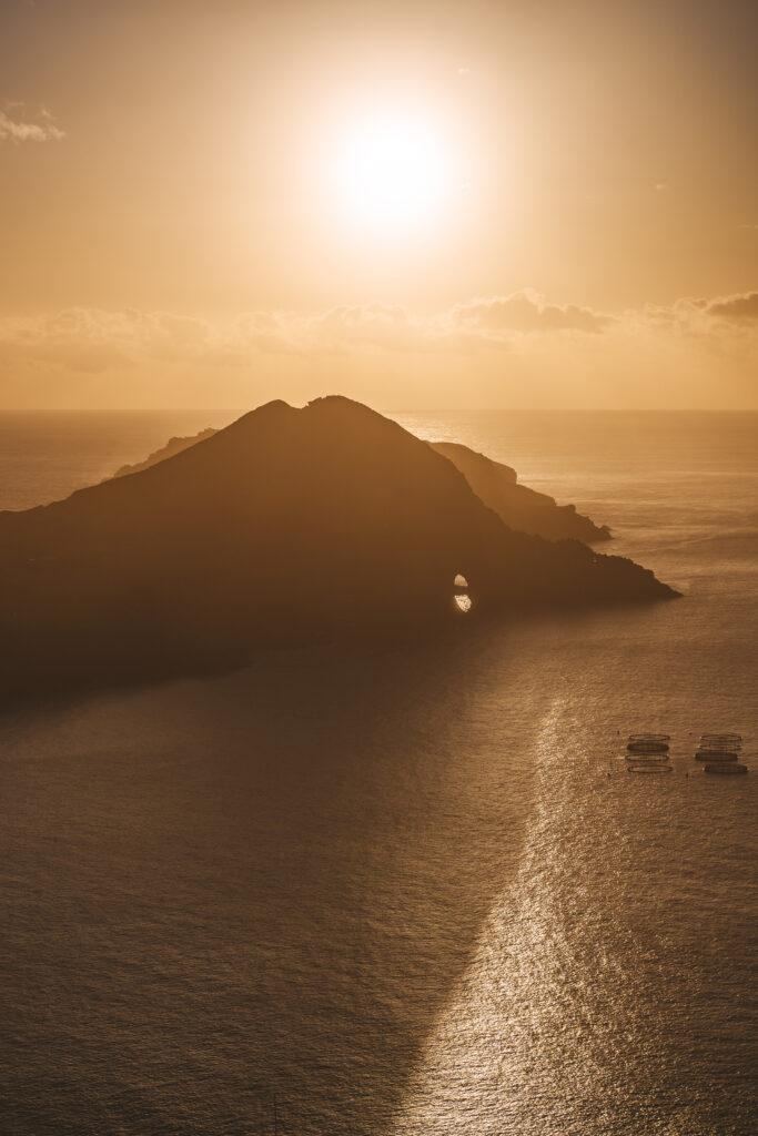 Madera - Wchód słońca
