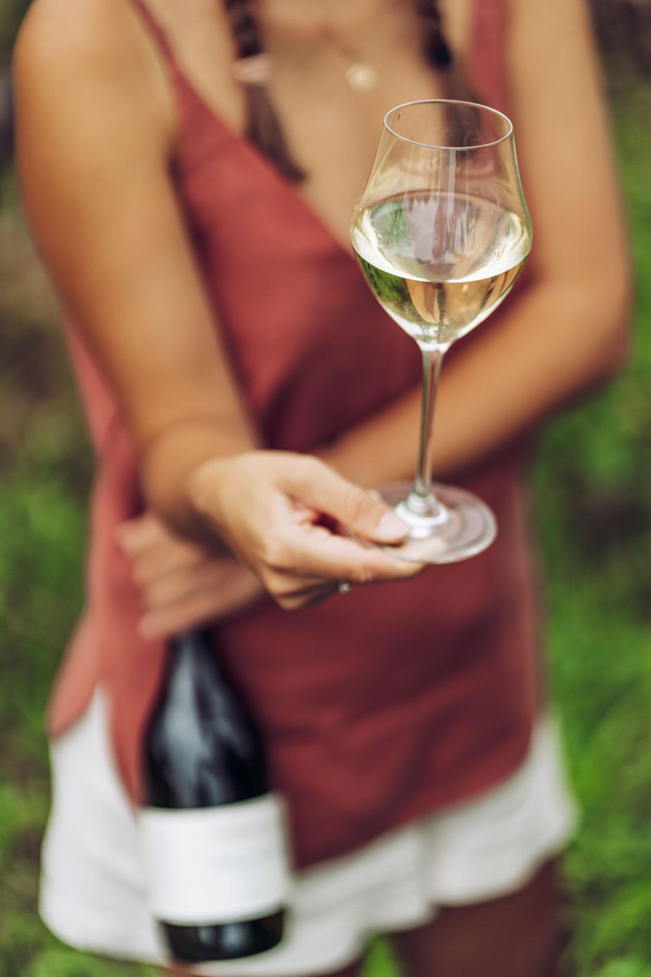 Tokaj wino kieliszek