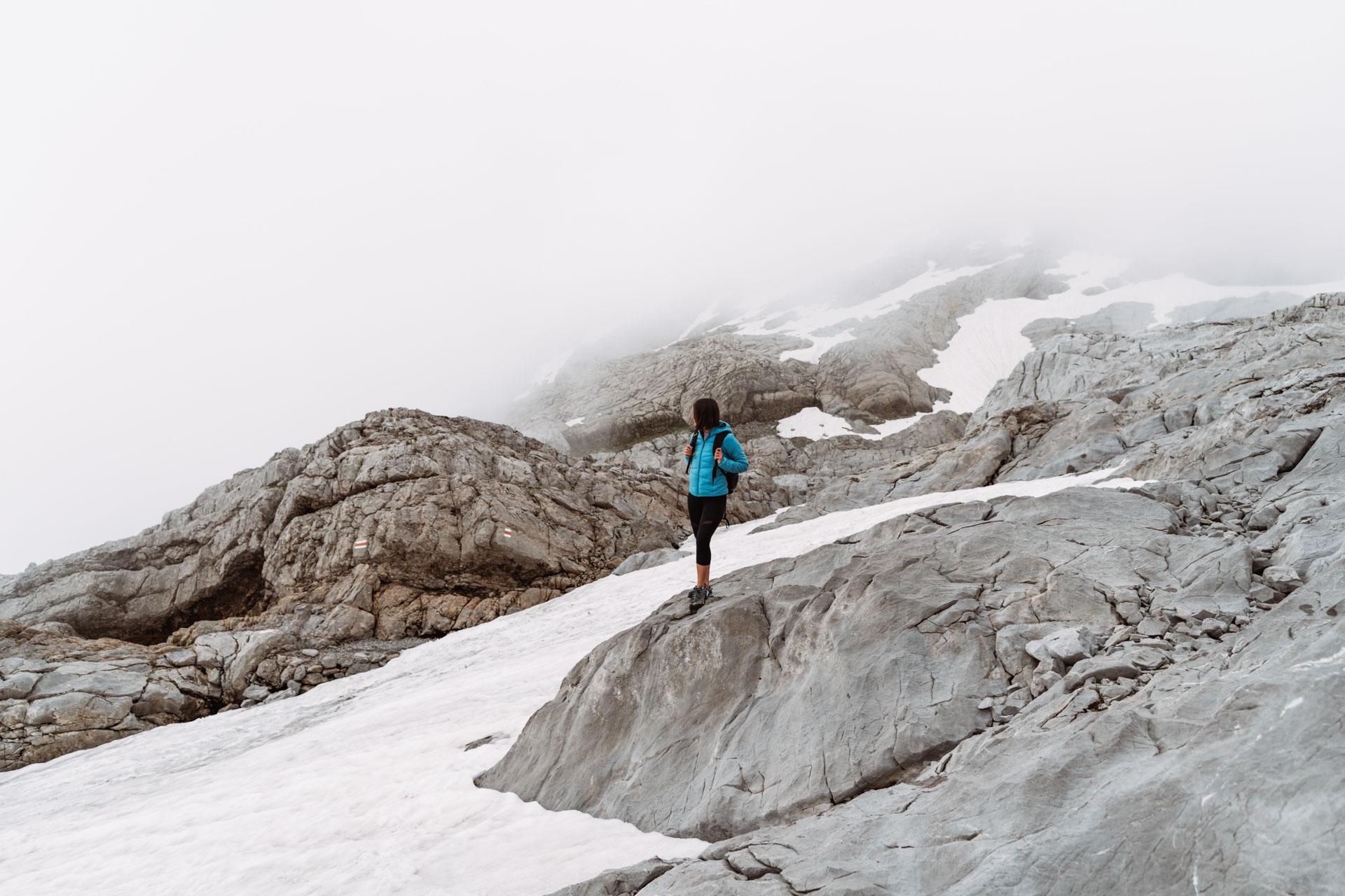 zbocza szczytu Säntis