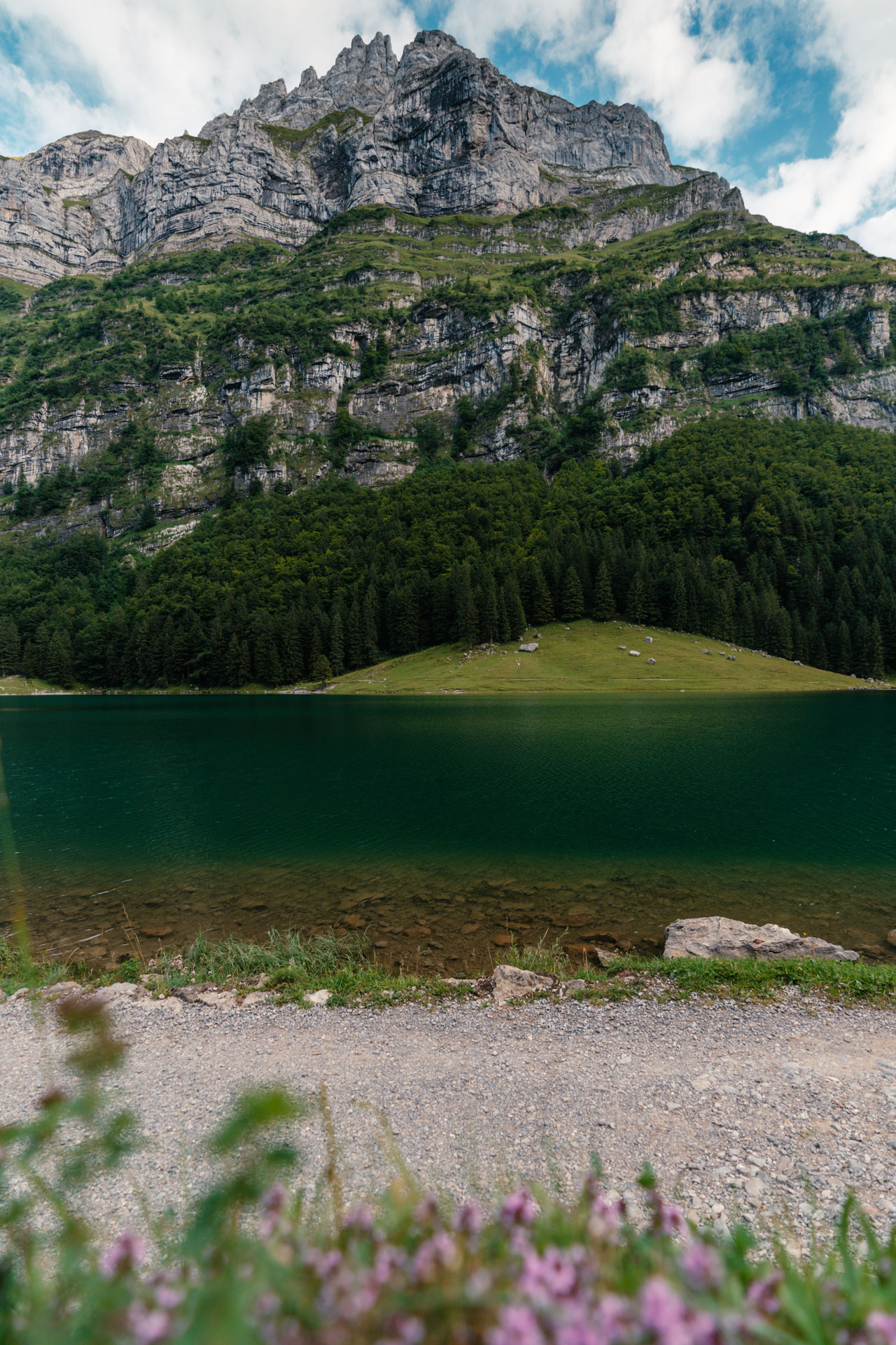 jezioro przy Säntis