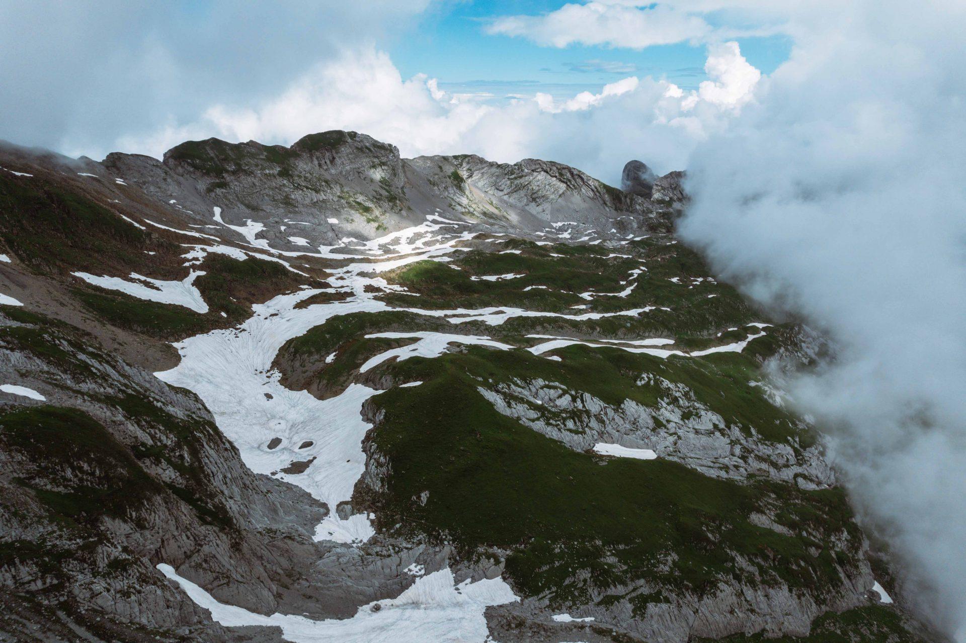 widoki góra Säntis